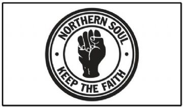 Northern Soul Keep The Faith Fridge Magnet. Retro Music Movement